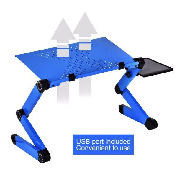 Laptop Stand - Blue Vent