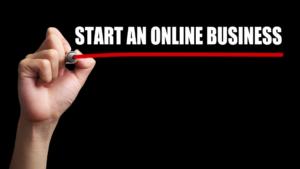 start online business banner