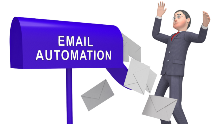 email automation clip art