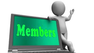 membership website clipart