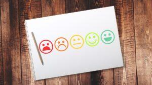 select smiley face survey